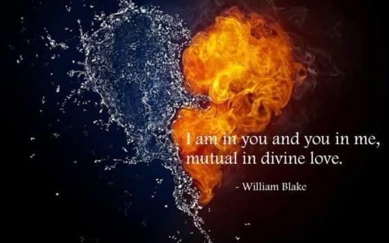 Blake, you in me, I in you